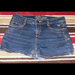 Justice Blue Jean Shorts. Very Nice Condition